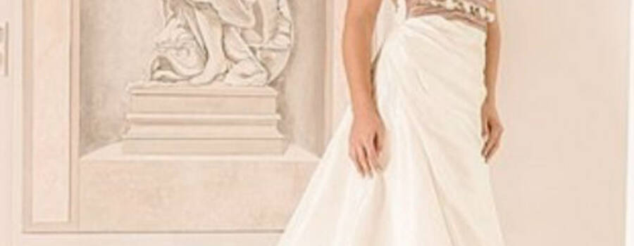 Beispiel: Brautkleid, Foto: Ilse Moden.