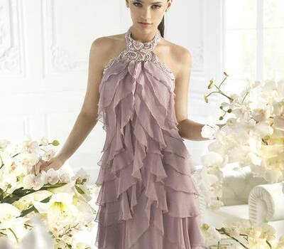 Beispiel: Mode für Hochzeitsgäste, Foto: Gina's Sposa.