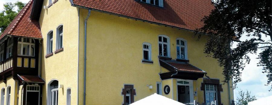 Beispiel: Villa Weismüller -Außenansicht, Foto: Restaurant Quack.