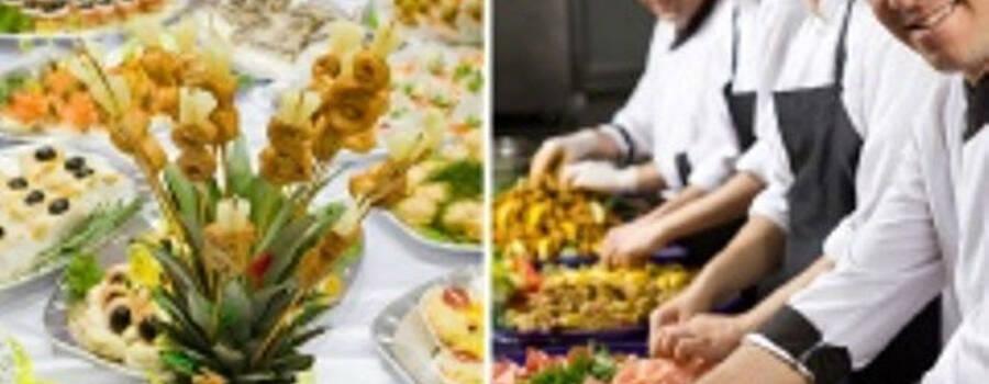 Beispiel: Catering-Service für Ihr Hochzeitsfest, Foto: Hombergerhaus.