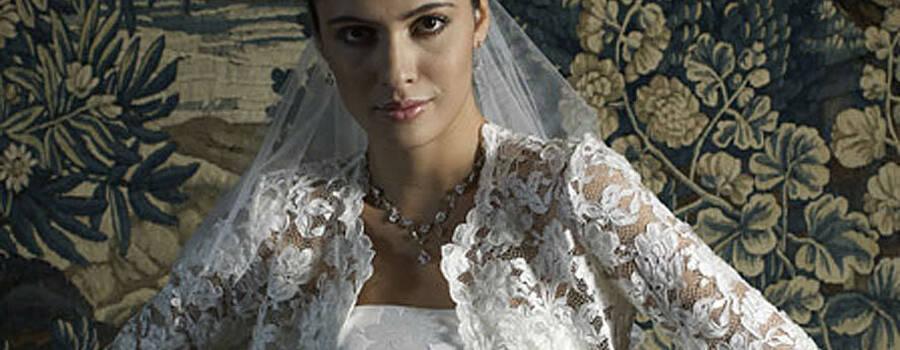 Beispiel: Accessoires, Foto: Magy's Brautmode.