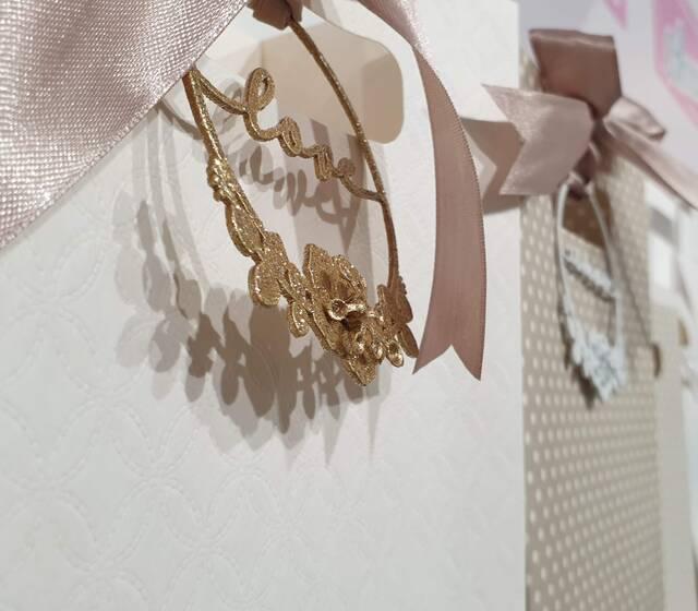 Particolare decorazione per Wedding Bags