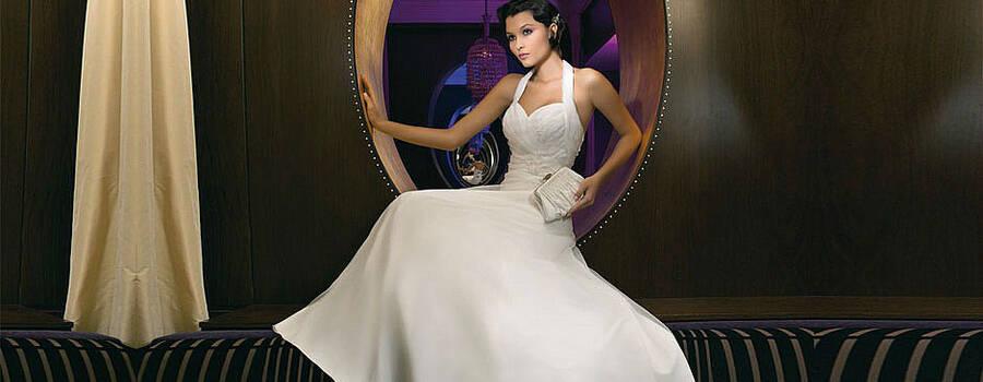 Beispiel: Brautmode, Foto: Babylon Brautmoden Outlet.