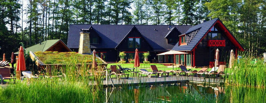Beispiel: Seehotel Burg, Foto: Seehotel im Spreewald.