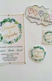 Party Invitaciones y Stickers