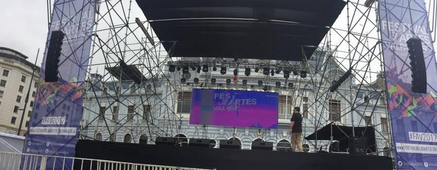Festival de las artes Valparaiso 2017