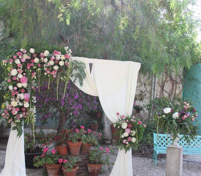 Ceremonia patio