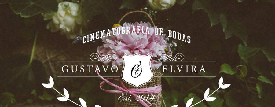 Portada del vídeo de la boda de Gustavo y Elvira.