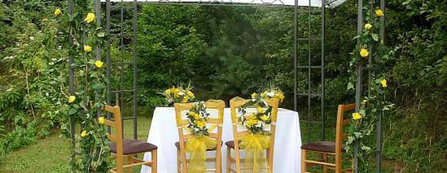 Foto: Idyllischer Garten