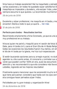 Nina Coronado Especialistas en Novias