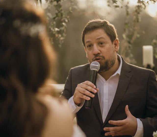 Filósofo Casamenteiro - Celebrante - Casamento Paulo & Mariá