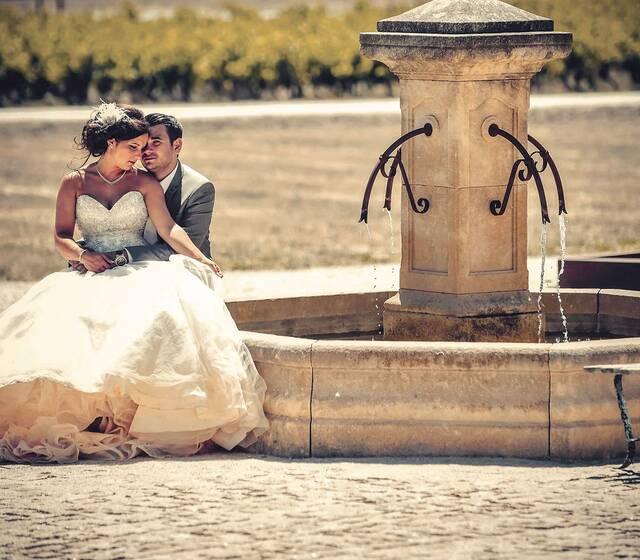 Au Domaine Des Peyre, entre fontaine et vignes
