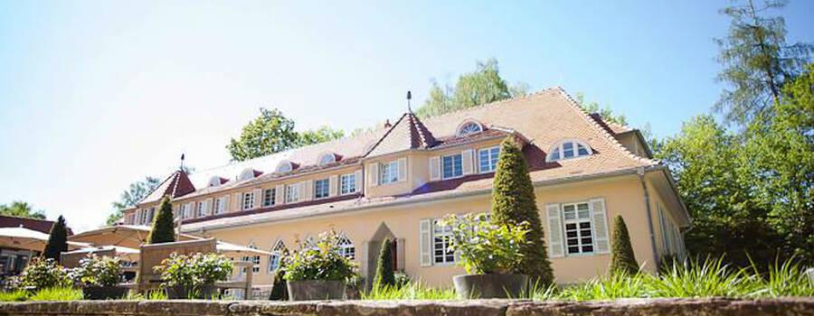 Beispiel: Außenansicht, Foto: Waldhotel Stuttgart.