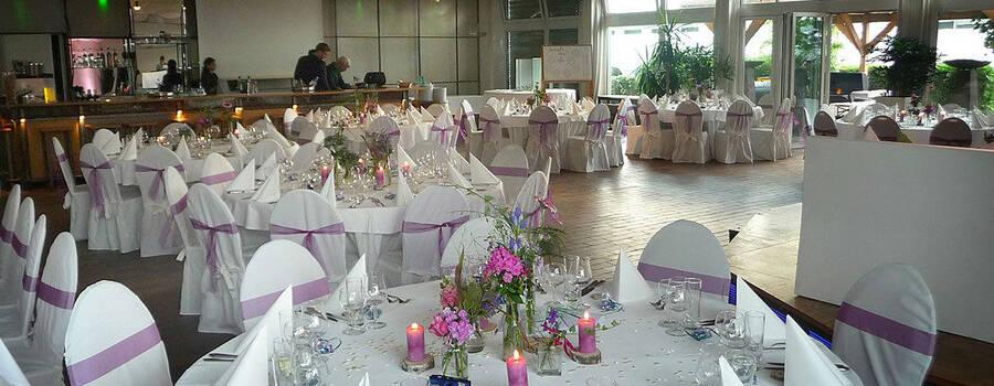 Beispiel: Tischdekoration, Foto: Tafelfreuden.