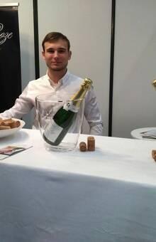 Champagne Barbier-Roze durante Exponoivos Lisboa