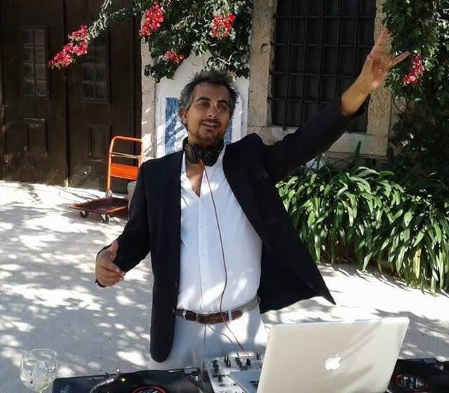 DJ Nuno Garcia actuação em cocktail em casamento
