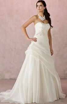 Beispiel: Brautkleider für jede Figur, Foto: sunita sood.