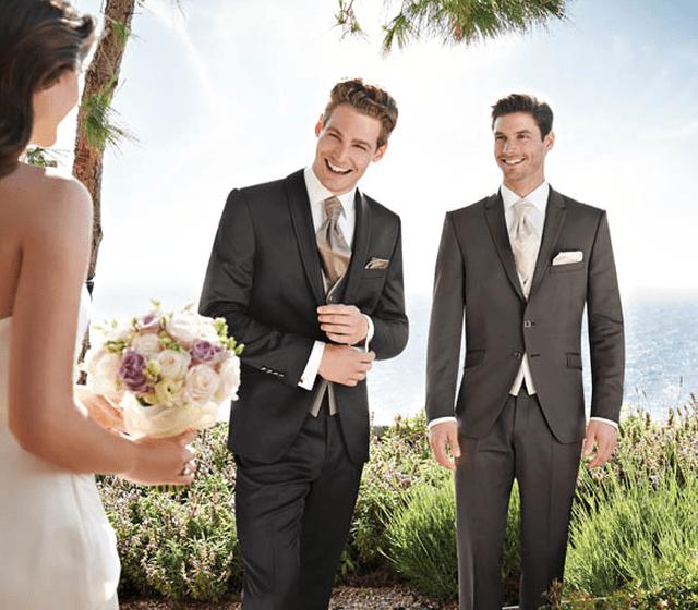 Beispiel: Mode für den Bräutigam, Foto: David´s Mode.
