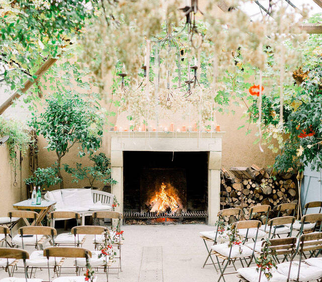 Nozza wedding planner - ceremoniesetting herfstbruiloft