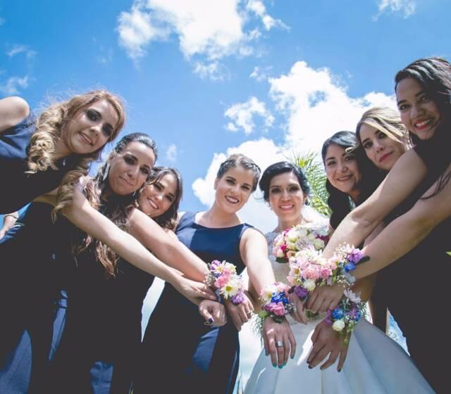 Bride's team BODA L&R