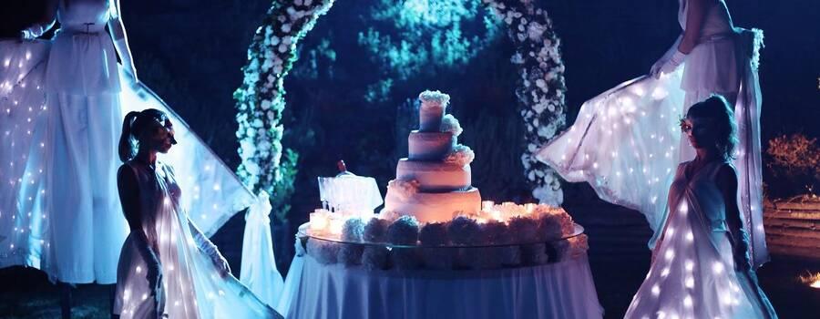 La magia del taglio torta