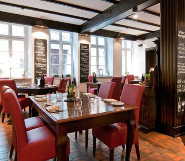 Beispiel: Restaurant, Foto: Gasthaus Backmulde.