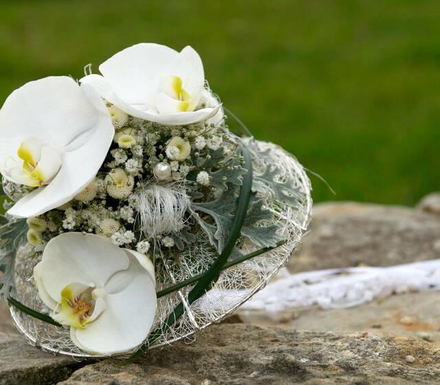 Beispiel: Wunderschöne Sträuße, Foto: Achillea Dein Blumenladen.