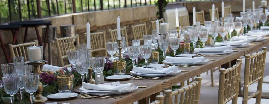 decoración exclusiva de centros de mesa