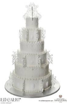 Red Carpet Cake Design