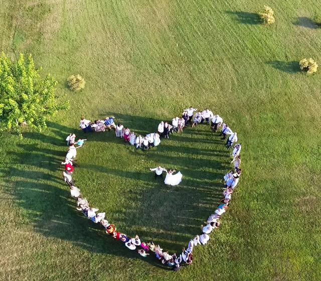 heart from the sky