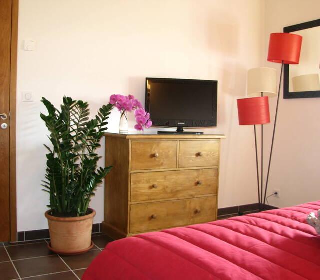 Toutes nos chambres sont équipées d'une télévision, et d'une connection wifi.
