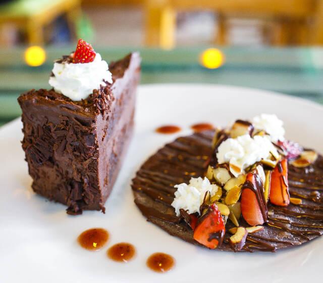 Chocodelirio y Taco de chocolate