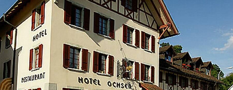Beispiel: Aussenansicht, Foto: Hotel Restaurant Ochsen.