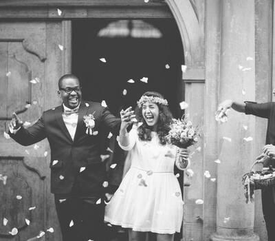 Andrè & Nina, Standesamt Hochzeit - Fotoshooting mit dem Brautpaar in Schaffhausen