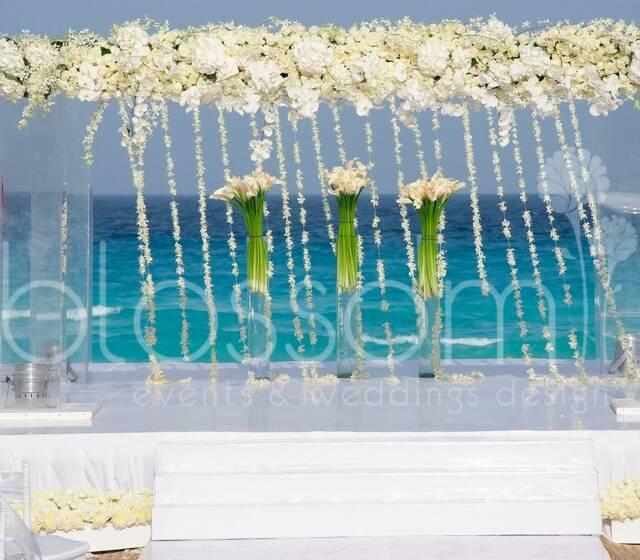 Exclusivo gazebo para Boda Judia de lujo.  Exclusive Jewish wedding