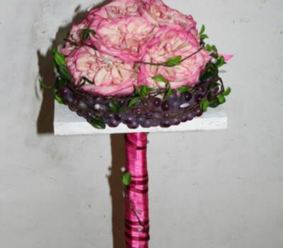 Beispiel: Brautstrauß, Foto: Koehler Florist am Freilichtmuseum.
