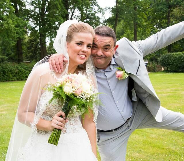 Aurelia & Silvio van A&S BruiloftPlanners