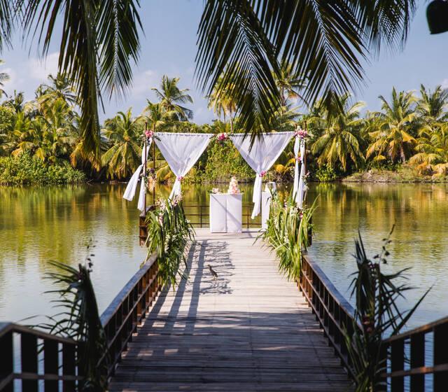 Heiraten auf den Malediven mit Pretty Weddings
