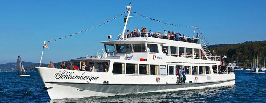 Beispiel: Originelle Hochzeitslocation, Foto: Wörthersee Schifffahrt.