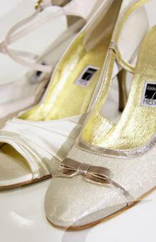 Beispiel: Der Schuh für Ihren perfekten Auftritt, Foto: Schuh Hiegl.