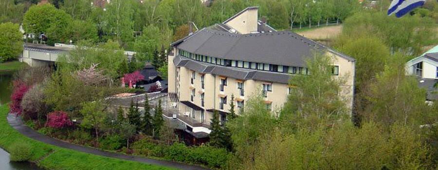 Beispiel: Außenansicht, Foto: Hotel Rheinsberg am See.