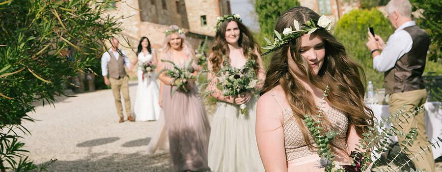 Bride's Arrive