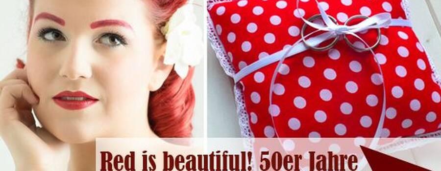 handgefertigte Rockabilly Ringkissen - LoveLi Hochzeitsplanung Onlineshop