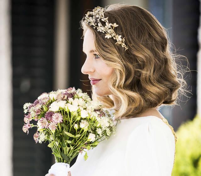 Ondas rotas, melenas midi, novias con cabello corto y media melena suelta.