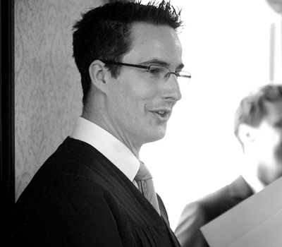 Beispiel: Ihr Hochzeitsredner, Foto: Die Hochzeitsredner.