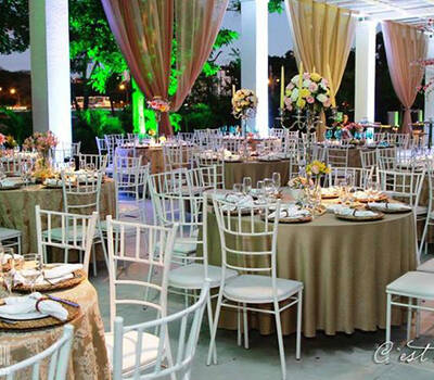 Casa Branca Eventos. Foto: Vilas Boas