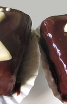 Exquisitos brownies como bocaditos