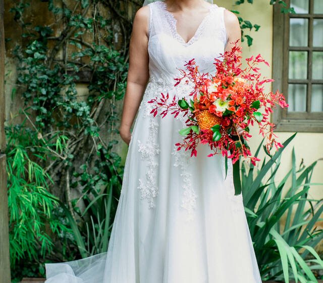 Magali Vieira Alta Costura. Noiva: Thais Sant'Anna