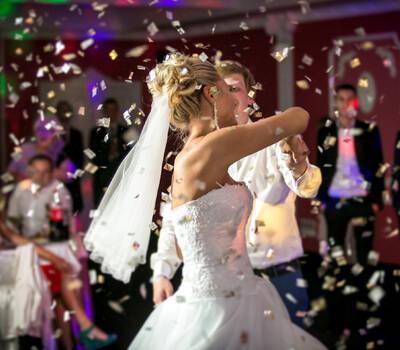 Hochzeitsparty im Gottfried Keller Ballsaal