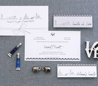 Convite Personalizado: Sarah & Scott